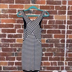 Guess striped mini dress